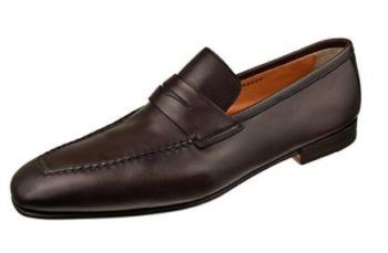 Santoni Men's Shoes Fox Penny Loafer