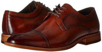 Stacy Adams Men's Dickinson Cap-Toe Oxford (Mens Casual Oxford Shoes)